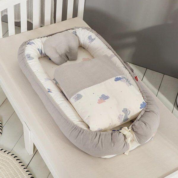 DHgate portable baby sleeping nest bed infant toddler cradle bassinet blanket quilt nursery crib cri