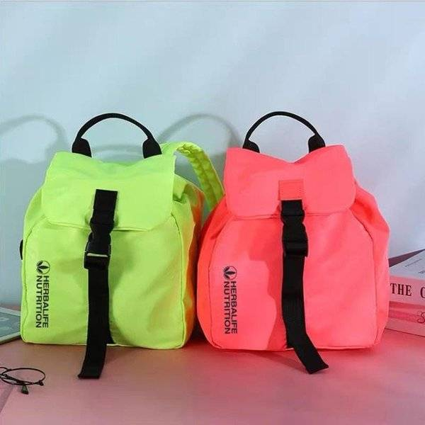DHgate herbalife nutrition fashion simplicity travel sport hiking bag lapfluorescence color leisure