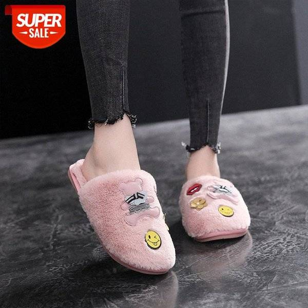 DHgate home furnishing cotton slippers in autumn and winter #gm6v