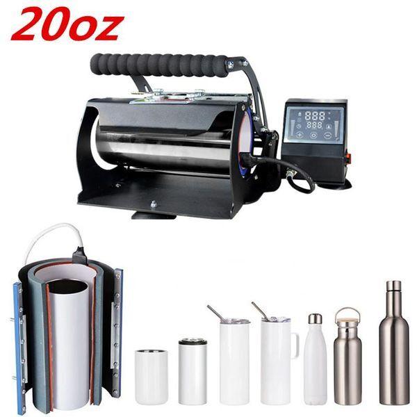 DHgate printers transfer mug tumbler machine sublimation digital heat press printing for 20oz