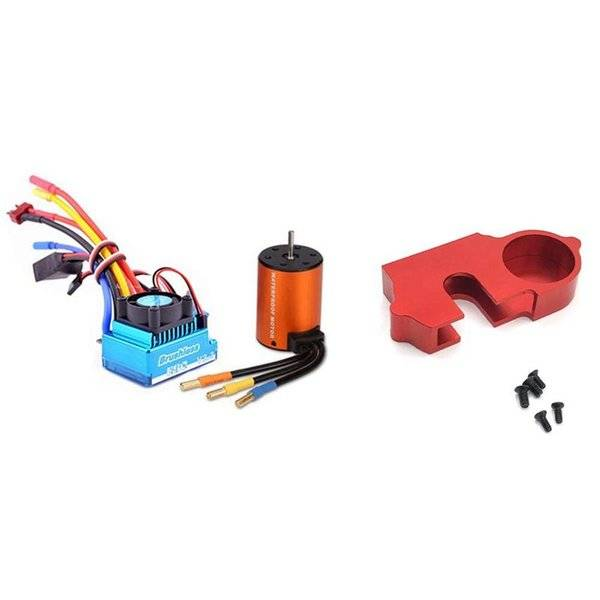 DHgate camcorders brushless upgrade kit motor esc set with metal reduction gear cover dust 144001-12