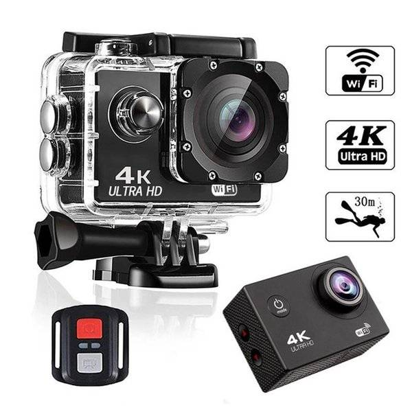 DHgate camcorders waterproof camera touch screen full hd 4k 140° wide-angle lens 500 million pixels