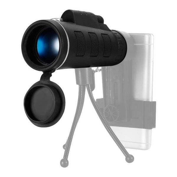 DHgate camcorders outdoor bak4 monocular telescope built-in prism scope with universal phone holder