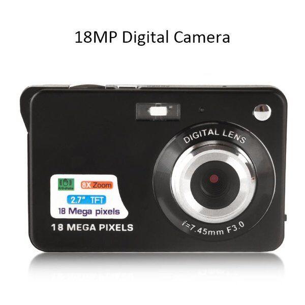 DHgate digital cameras 18mp hd camera portable 8x zoom 720p video anti-shake recording mini pographi