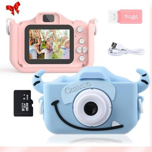 DHgate digital cameras fun children's camera hd dual birthday gi