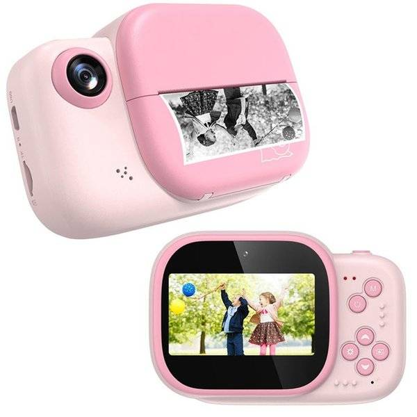 DHgate digital cameras kids camera instant print for child video po toys with 32gb card paper childr