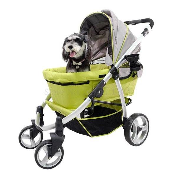DHgate dog car seat covers luxury pet stroller fs1202 first class