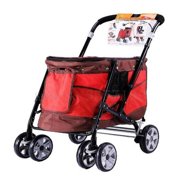 DHgate dog car seat covers japan ivpets pet trolley large disease cat cart foldable with brake