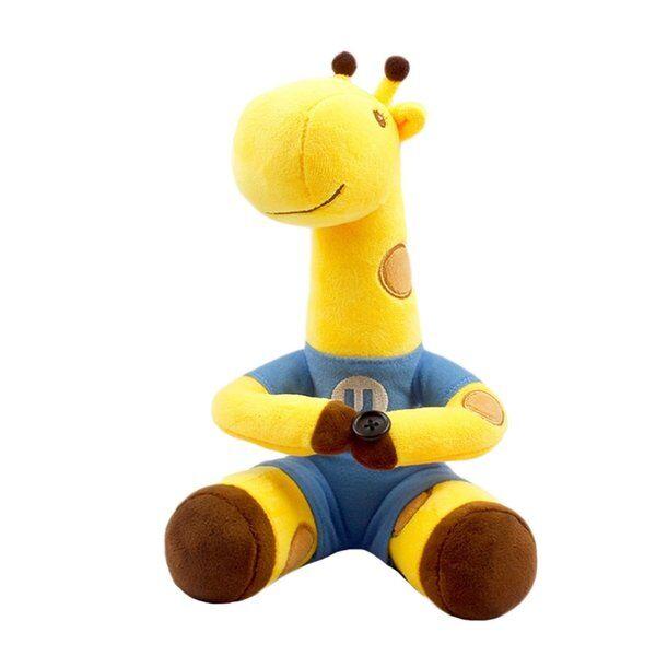 DHgate toy plush doll cartoon dress giraffe doll