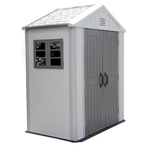 HDPE plastic outdoor garden shed for storage tools outside