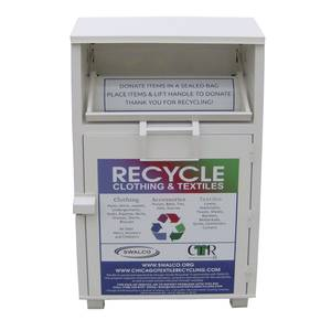 Used Clothes Donation Shoes Recycle Bin donation collection box drop box