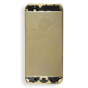 Genuine real gold replacement housing mobile phone accessories for iphone 5s
