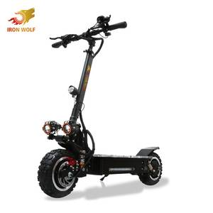 2019 hot sales Dual motors pedal electric car cheap off-road electric scooter with seat for adult