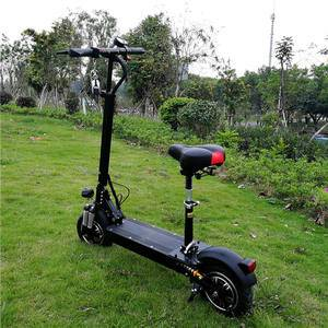 2400W 52V 1000W 48V Hub Brushless Motor Adult Foldable Electric Scooter 1200W With Seat