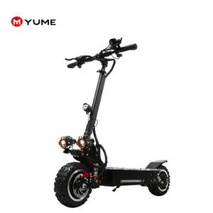 Chinese long range big powerful e scooter  11inch 3200w folding electric scooter for adult with seat