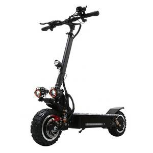60v 3200W dual motor folding powerful scooter 11inch fat tire off road adult electric scooter with r
