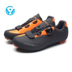 High Quality Men Bike Cycle Bicycle Riding Road Shoes Nylon Soles  Cycling Athletic Bicycle shoes