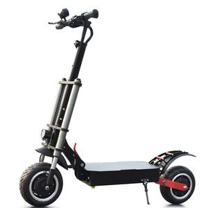 Yume 2019 hot sale 3200w 60v foldable e scooter 11inch adult electronic scooter   with removable sea