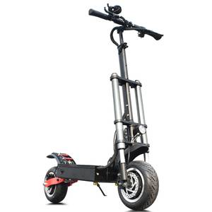 China 3200W dual motor powerful two wheel 11 inch fat tire off road electric scooter with removable