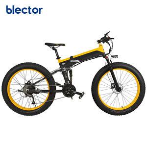 Fashion 26 inch 1000W 500W Long Range Battery Electric Bike Folding Bicycle