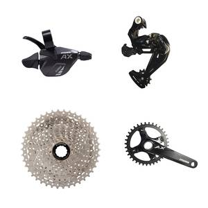 L-twoo Outdoor sports mountain bicycle parts AX 1X11S Kit front rear Derailleur 50T Freewheel MTB bike Accessories supplier