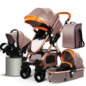 Wholesale supplier round baby walker with canopy,4 in 1 baby walker stroller, 360 degree rotating outdoor cheap Kids Stroller