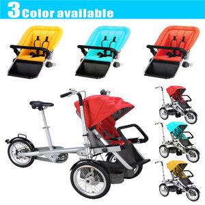 twin baby stroller bike  2 in 1  taga nucia bike car seat mother and child stroller bike