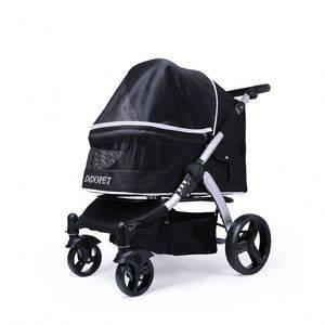 Portable breathable customized pet stroller easy carrier outdoor dog stroller