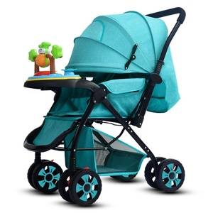 China supplier new design  grace kids luxury  baby stroller with music box