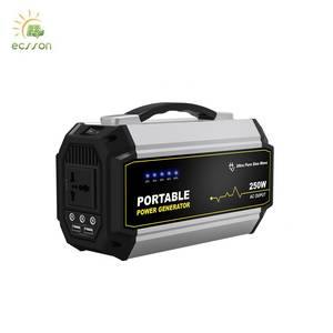 2019 popular 300w portable  power station for Outdoor camping and laptop ,  sine wave power bank station for electric tool