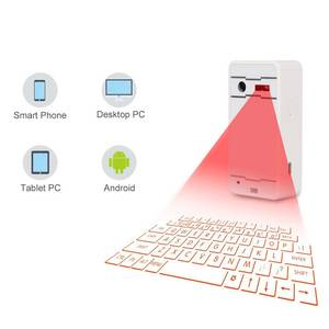 OEM Laser projection virtual keyboard wireless bluetooth virtual laser keyboard for tablet laptop desktop iphone android phone