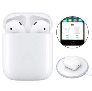 i100 TWS original LK TE9 LK-TE9 Earbuds Bluetooth Headset XY Wireless Earphone PK I30 I20 W1 Chip For iPhone Earphones all Phone