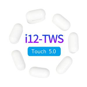 New 2019 Electronics Top Rated i12 TWS Wireless Earbuds BT 5.0 Sport Mini True Earphones Touch Control