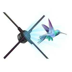 3d hologram in the air projector hologram outdoor display fan manufacturer