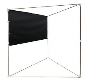 """LEXIN Manufacturer Best Price Good Quality 80"""" 16:9 Portable Projector Screen Outdoor & Indoor Floor with Stand Tripod"""