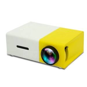 LCD projector home media player mini projector video game TV home theater