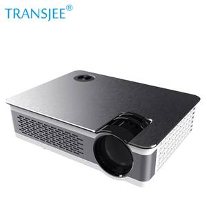 Wholesale High Lumens Full HD LED home theatre projector Computer 4 K Multimedia 1080P Smart Phone Tablet Projector