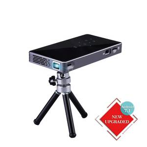 Mini Projector DLP 1080p Smart Android Wifi BT Quad Core Mobile Cell Phone Projector for Home Theater/Outdoor/Meeting