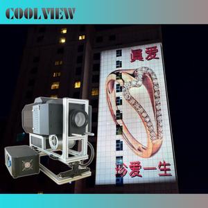 100000 50000  40000 lumens high brightness outdoor advertising logo projector