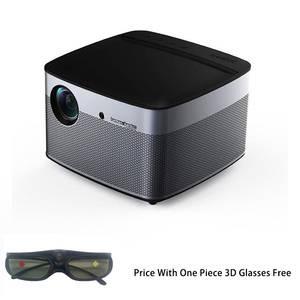 Salange XGIMI H2 1080p 4K Home Theater DLP Projector with 1350 Ansi Lumens H.265 3D Glasses Android WiFi Bluetooth Speaker