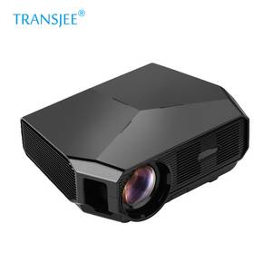 Factory direct wholesale smart outdoor night light  profile multimedia  lens Projector for home cinema proyector