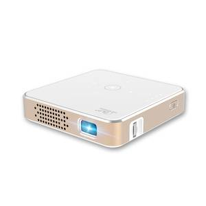 Mini dlp led portable outdoor multimedia home theatre projector battery speaker 1080P compatible
