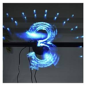 4d outdoor spinning hologram projector 3d led holographic projector machine