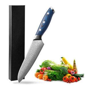 Tinderala best 3.5 5 6 6.5 7 8 inch japanese damascus steel vegetable sushi cooking boning carving kitchen knives set chef knife
