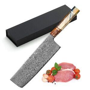 High quality Japan 7 inch nakiri japanese kitchen knife home tools Nakiri knife