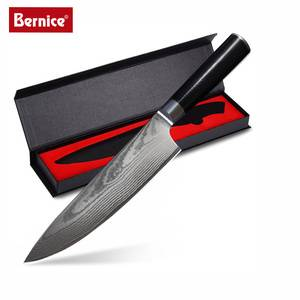 New 8 inch Chef Knife Damascus Steel Professional Kitchen Knife with G10 Handle