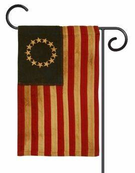 Heritage Cotton 13-Star Garden Flag