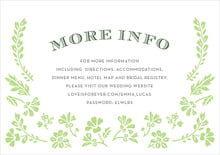 Evermine Custom Enclosure Cards - Lime - Garden Romance