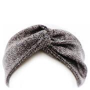 Slip Silk Twist Headband (Various Colors) - Leopard