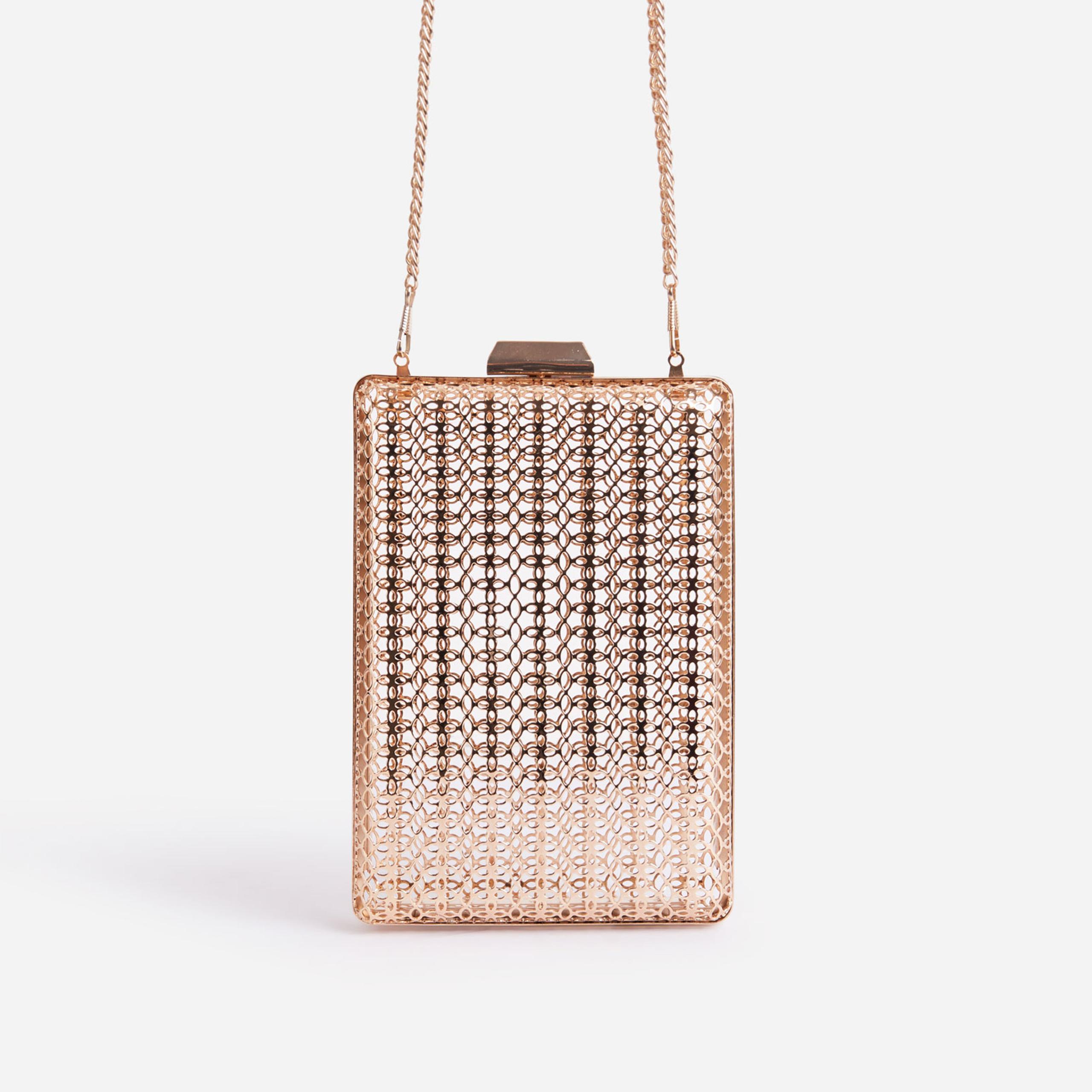EGO Jessie Cross Body Phone Bag In Metallic Gold,, Gold  - female - Size: One Size